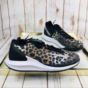 NIKE Women's Air Zoom Zero HC Cheetah Tennis Shoes